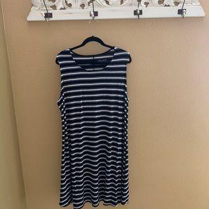brand new never worn! ava & viv dress/pool cover